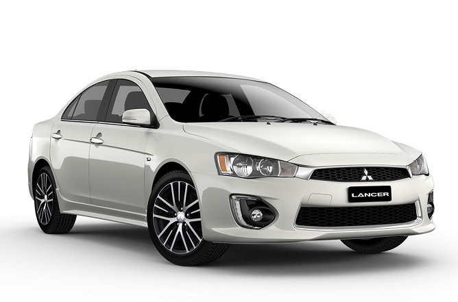 Precut window tint film for Mitsubishi Lancer sedan.
