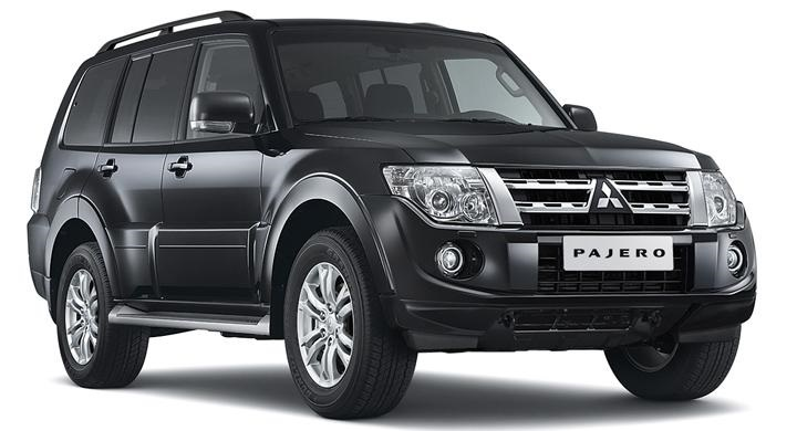 Precut window tint film for Mitsubishi Pajero.