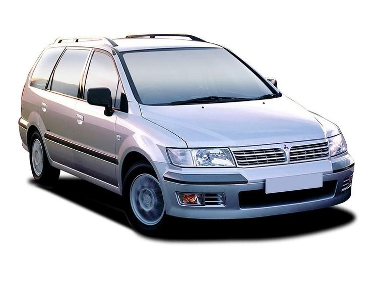 Precut window tint film for Mitsubishi Space Wagon.