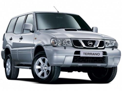 Precut window tint film for Nissan Terrano.