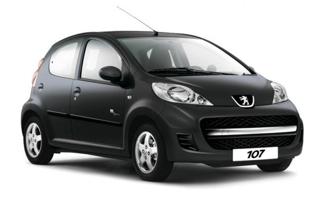 Precut window tint film for Peugeot 107 5-d.