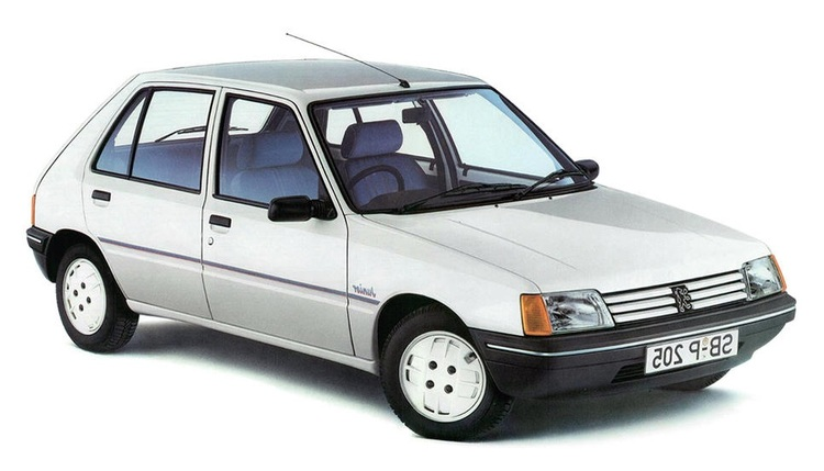 Precut window tint film for Peugeot 205 5-d.