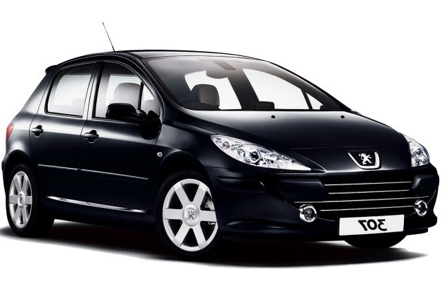 Precut window tint film for Peugeot 307 5-d.