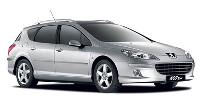 Precut window tint film for Peugeot 407 SW.