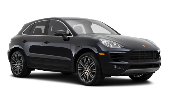 Precut window tint film for Porsche Macan.