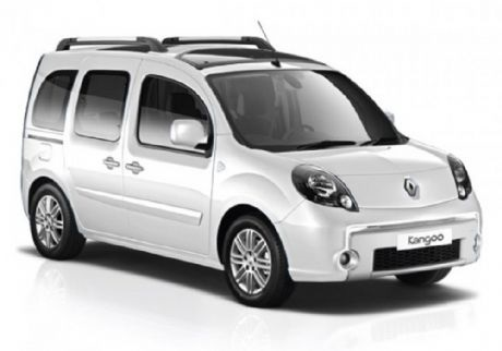 Precut window tint film for Renault Kangoo.