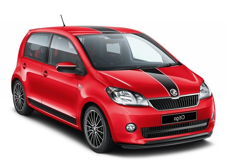 Precut window tint film for Skoda Citigo 5-d.
