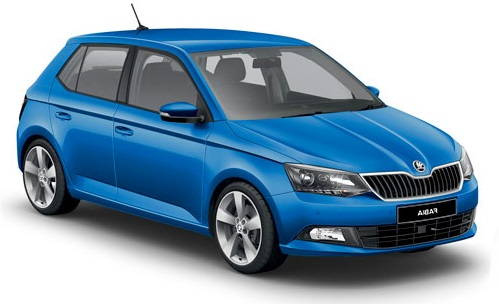 Precut window tint film for Skoda Fabia 5-d.