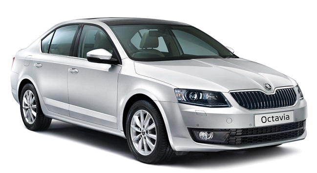 Precut window tint film for Skoda Octavia Hatchback.