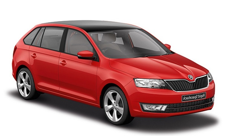 Precut window tint film for Skoda Rapid Spaceback.