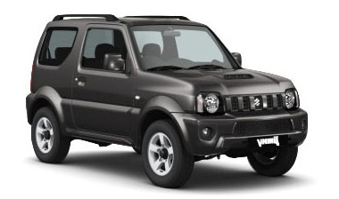 Precut window tint film for Suzuki Jimny.
