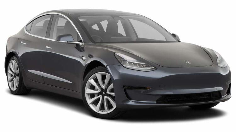 Precut window tint film for Tesla Model 3.