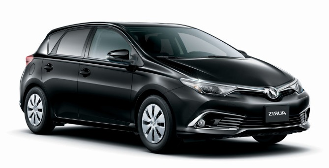 Precut window tint film for Toyota Auris 5-d.