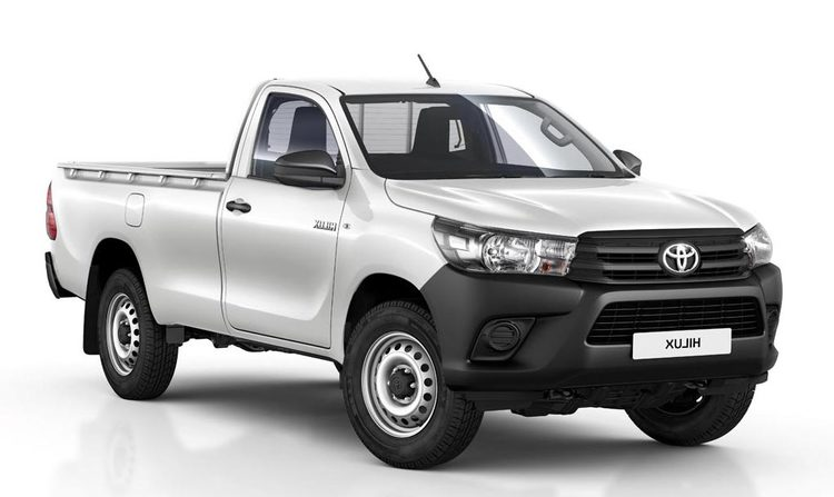 Precut window tint film for Toyota Hilux Pick Up.