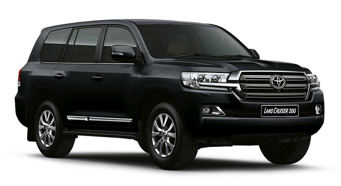 Precut window tint film for Toyota Land Cruiser 200.