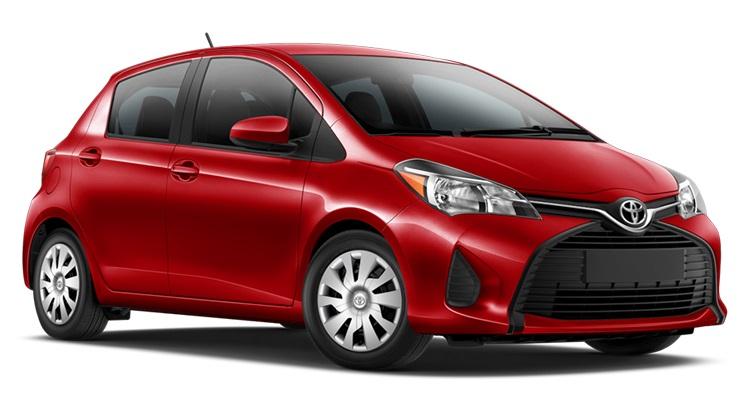 Precut window tint film for Toyota Yaris 5-d.