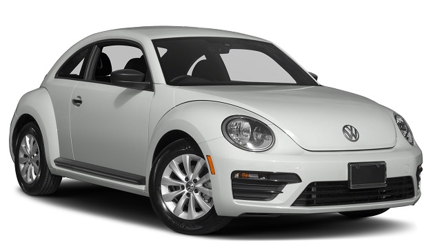 Precut window tint film for Volkswagen Beetle.
