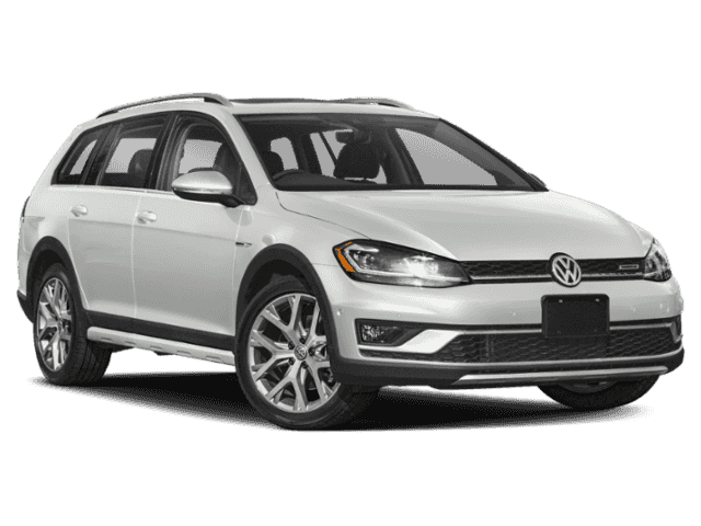 Precut window tint film for Volkswagen Golf Alltrack.