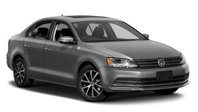 Precut window tint film for Volkswagen Jetta sedan.