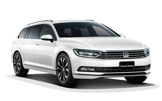 Precut window tint film for Volkswagen Passat estate.