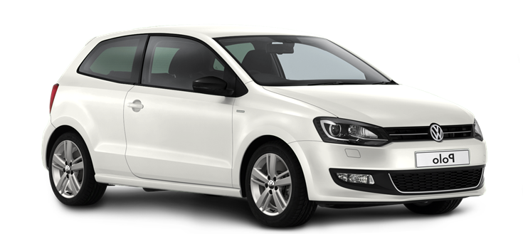 Precut window tint film for Volkswagen Polo 3-d.