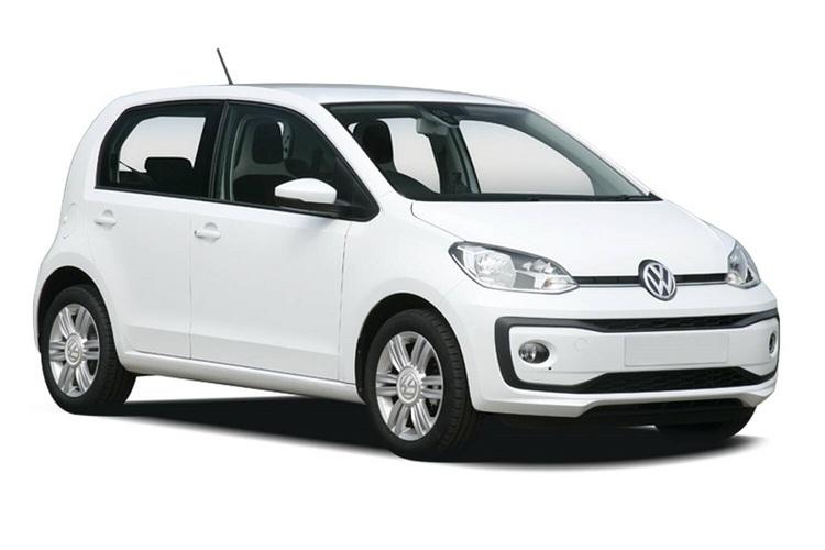 Precut window tint film for Volkswagen Up 5-d.