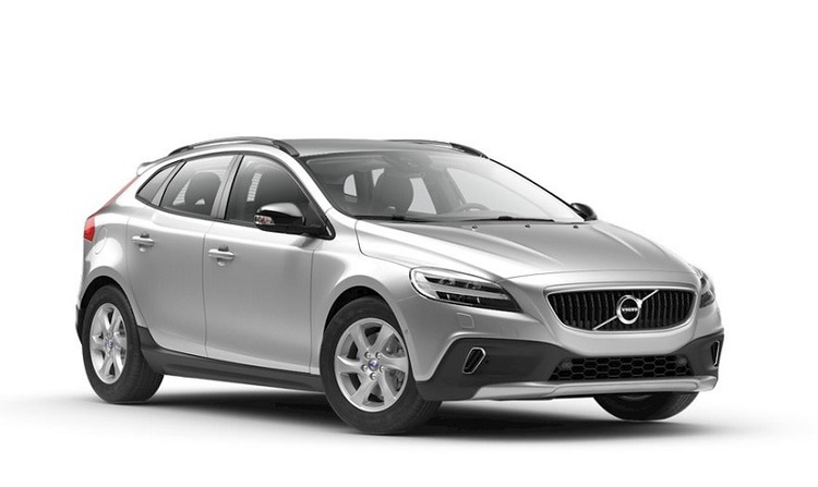 Precut window tint film for Volvo V40 Cross Country.