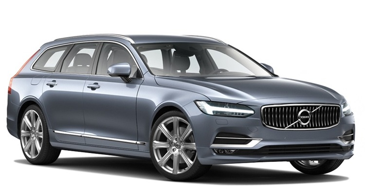 Precut window tint film for Volvo V90.