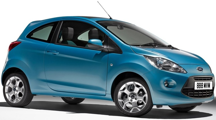 Precut window tint film for Ford Ka 3-d.