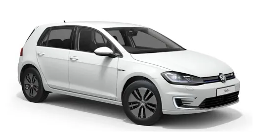 Window tint film for the Volkswagen E-Golf