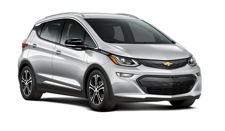 Window tint film for the Chevrolet Bolt.