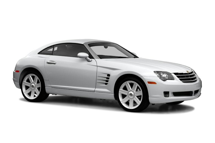 Window tint film for the Chrysler Crossfire.