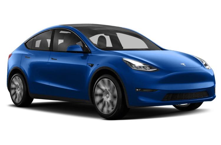 Window tint film for the Tesla Model Y.