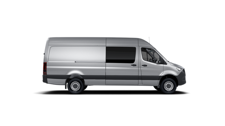 Window tint film for the Volkswagen Crafter.