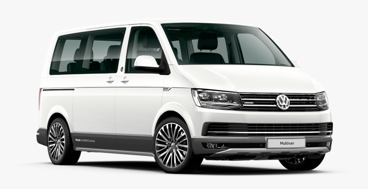 Window tint film for the Volkswagen T6 Transporter L1