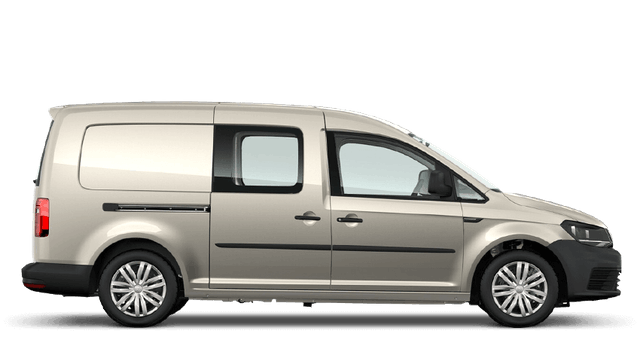 Window tint film for the Volkswagen Caddy Maxi Crew.