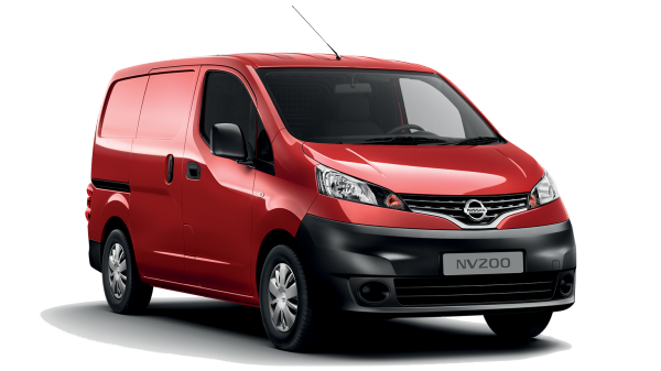 Window tint film for the Nissan NV200 Van L1/L2.