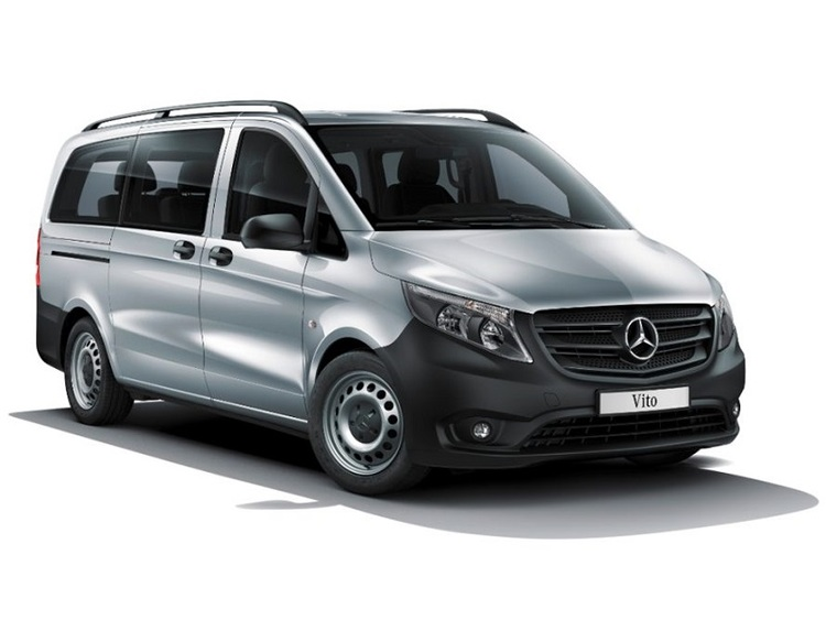 Window tint film for the Mercedes Vito L1.