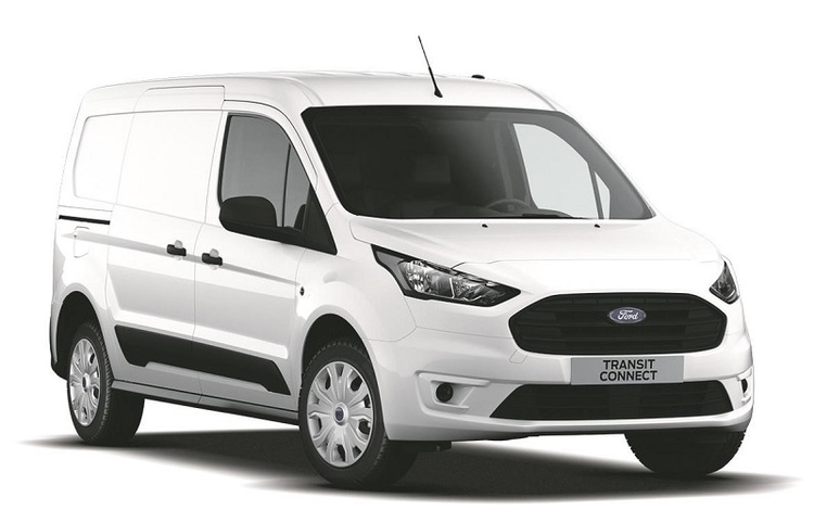 Window tint film for the Ford Transit Connect van L2.