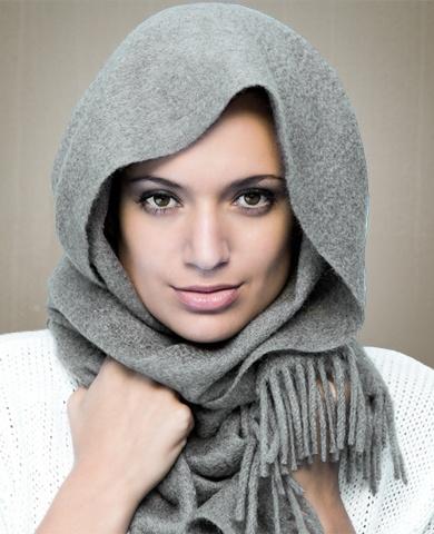 ULRIKE HEFEL Cashmere-scarf