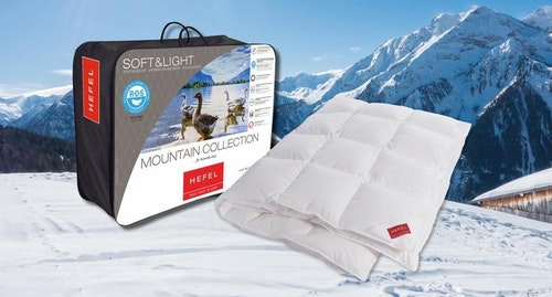Hefel Arlberg Mountain Collection gåsduntäcken, 15% rabatt!
