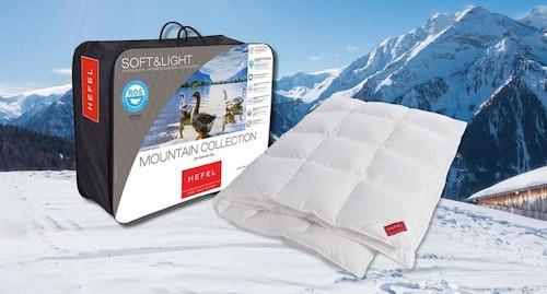 Hefel Arlberg Mountain Collection gåsduntäcken, 15% rabatt!