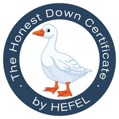 Hefel Gold Goose Down duntäcke, 35% rabatt