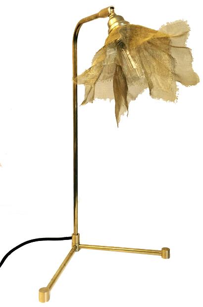 TABLE NET Bordslampa mässing