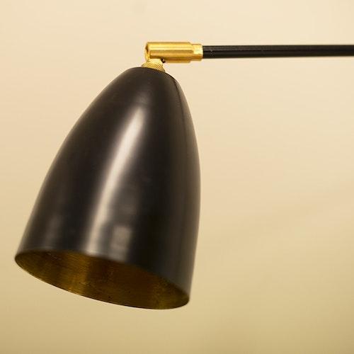 Vägglampa WALL3 BLACK