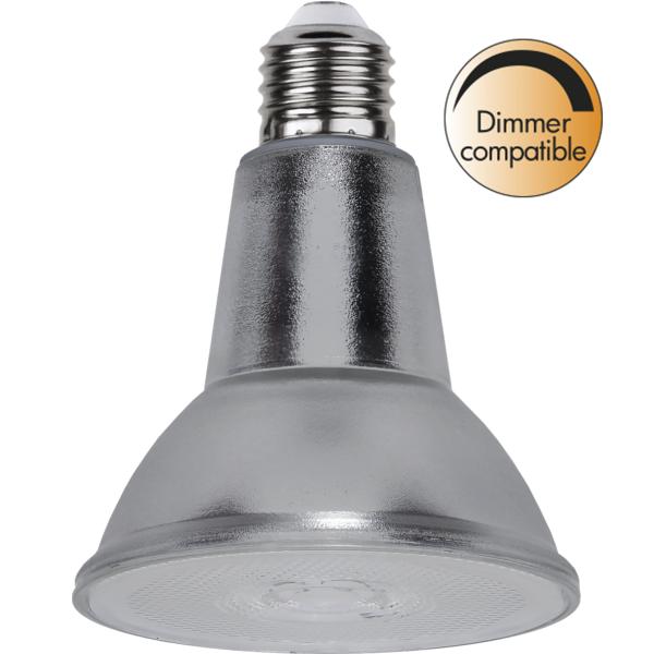 LED-LAMPA E27 PAR30 SPOTLIGHT GLAS medium