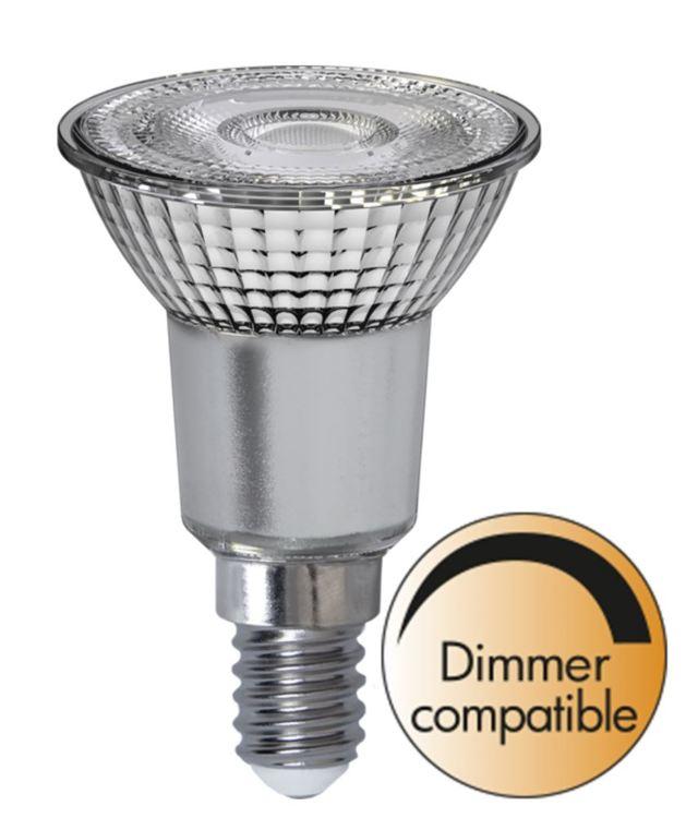 LED-LAMPA E14 PAR16 SPOTLIGHT GLASS