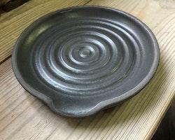 Slevfat Svart lera svart matt glasyr
