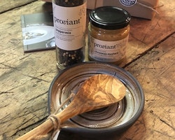 Presenttips Slevfat med träslev & pepparmix