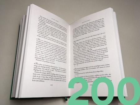 Lektörstjänst 200 sid.